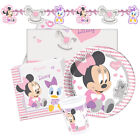 Disney INFANT MINNIE Mouse Birthday Party Range - Tableware Supplies Decorations