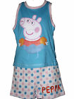 BNWT PEPPA PIG VEST TOP T SHIRT & SHORTS SET 2,3,4,5,6 YRS