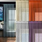 "BERMUDA LUXURY RETRO DESIGN VOILE CURTAIN PANEL READY MADE PANELS 54"" 72"" 90"""