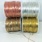 50/100 Yards Cobra Chains Copper Based Silver Gold Rose Raw Brass Snake Findings