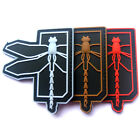 3 PCS DRAGONFLY TACTICS U.S. ARMY USA 3D RUBBER PVC MORALE TACTICAL PATCH