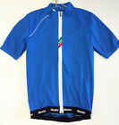 Zeit Short Sleeve Cycling Jersey - in Blue - Made in Italy by Santini