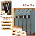 Wardrobe Hanging Clothes Suit Dress Garment Storage Dustproof Travel Cover Bag