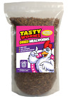 Tasty Worms Freeze Dried Mealworms - Chickens, Bluebirds, Sugar Gliders & More!