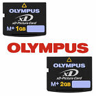 Original Olympus Type M+ 1GB 2GB XD Picture High Speed Memory Card For Cameras E