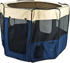 X-Large Portable Soft-Side Outdoor Pet Playpen Dog Show Enclosure PET-PEN-BL-XL