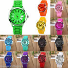 FL Unisex Sports Wrist Watch Jelly Women Dress Silicone Quartz Fashion