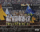 USA WOMENS SOCCER AUTOGRAPHED 13998 16X20 PHOTO (PODIUM FAR)(SOLO, LLOYD +7) JSA