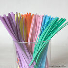 Coloured Twist Ties *Choose Colour & Quantity* for cellophane / gift bags
