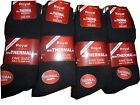 6 pairs of Men's Quality Winter Thermal Socks in black 6-11 extra thick winter