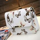 Floral Tote Women Faux Leather Messenger Satchel Crossbody Shoulder Bag Handbag