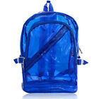 Women's Lovely Backpack Bookbag Transparent Jelly Travel Satchel Sweet Colors