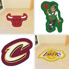 Choose Your NBA Team Mascot Decorative Logo Cut Floor Mat Area Rug by Fan Mats