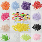 100Pcs 2 Holes Round Resin Buttons Scrapbooking Sewing DIY Craft Lots Color 11MM