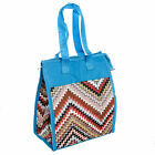 Womens Nylon Insulated Lunch Tote Bag Handbag Purse Satchel