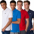 SKECHERS NEW MENS POLO TEE TOP PLAIN SHORT SLEEVE COLLARED COTTON PIQUE T SHIRT