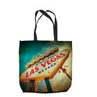 WELCOME TO LAS VEGAS DESIGN DESIGN TOTE BAG SHOPPING BEACH SCHOOL L&S PRINTS