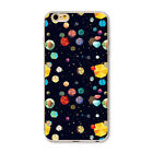 Space Scenery Painted Ultra Thin Soft TPU For iPhone 4 4S SE 5 5S 5C 6 6S Plus