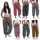 Pants PLD1-7 Cotton Embroidered Tribal Hmong Gypsy Harem Genie Aladdin Women Men
