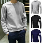 New Stylish Henley Slim Fit Casual Shirt Tee Cotton Men's Long Sleeve T-Shirt
