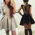Women Short Sleeve Summer Bandage Ladies Evening Party Sexy Dress Size 8-16