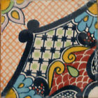 #C086 MEXICAN CERAMIC HANDMADE TALAVERA TILE SETS