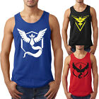New Pokemon Fashion Mens Casual Dress Slim Fit T-Shirts Pokeball Vest Tops  TEE