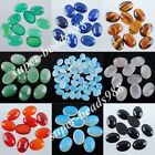 Free shipping Natural Gemstone Oval 10x14x5MM No Drill Hole Cabochon CAB SBN230