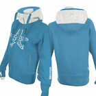 SEESTERN Damen Kapuzen Sweat Shirt Jacke Pullover Zip Hoody Sweater Gr.XS-3XL