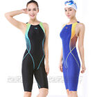 New womens girls swimwear racing competition swimsuit  943  all size