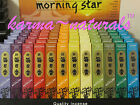 INCENSE Morning Star NIPPON KODO Japan - 50 sticks w/tile - You Choose Scent NEW