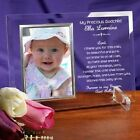 Personalized A Godparents Promise Picture Frame Engraved Baptism Photo Frame