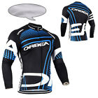 New Winter Men's Cycling Jacket Fleece Thermal Bicycle Long Sleeve Jerseys S-3XL