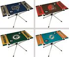 Choose Your NFL Team Rectangle Shaped Tailgate Folding End Zone Table in a Bag