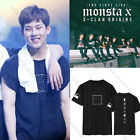 Kpop Monsta x T-shirt THE FIRST LIVE X- CLAN ORIGINS Unisex Tshirt Shownu Tee