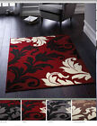 ORIGINS HEAT SET POLYPROPYLENE WOVEN FERNS PRINT RUG IN 4 COLOURS NEW