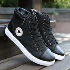 2016 Hot! Men's High Top Casual Sneakers Ankle Boots Lace Up Martin Shoes LG