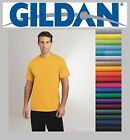 100 Gildan T-SHIRTS BLANK BULK LOT Colors or 110 White Plain S-XL Wholesale 50