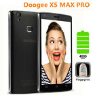"Unlocked 2GB+16GB 5.0"" DOOGEE X5 MAX PRO 4G LTE Smartphone Android6.0 Quad Core"