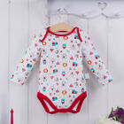 Bebini Baby Kid 3-18M Infant body Romper Jumpsuit 100% Cotton Printed White Red