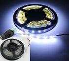 COOL White Ultra-Bright 5M 5630 SMD 300 LEDs Flexible Strip Light DC Connector