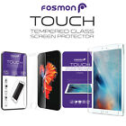 Fosmon Shatter Safe Tough Tempered Glass Screen Protector for Apple iPhone iPad <br/> US Seller | 9H Hardness | 1 Year Warranty Included!