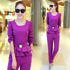 NEW! Fashion Casual Sweet wind long sleeve Shitsuke Harem Pants two-piece