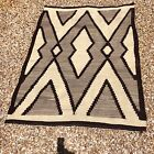 Fine old Transitional Navajo Rug with great optical designs,circa 1900,NR!