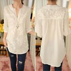 Fashion Women Summer Loose Top Short Sleeve Blouse Ladies Casual Tops B20E