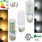 US E26 Ultra Bright 7W 9W 12W 15W LED Corn Bulb 5730 SMD Light Lamp AC110V White