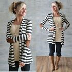 New Fashion Women Long Cardigan Coat Long Sleeve Casual Loose Sweater Jacket