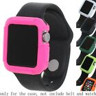 Bumper Guard Case Screen Frame Protect Silica Gel For Apple iWatch 42/38mm Watch