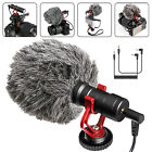 Supercardioid Video Record Microphone for Canon DSLR Camera Smartphone Youtube