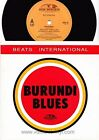 "Beats International Burundi blues 7"" GOD45 VG/EX UK"